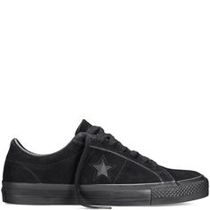 a7dcd25db4a500 CONS One Star Pro Black black Converse Trainers