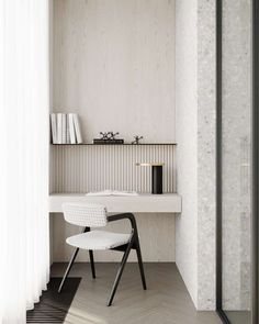 Every home needs a study nook or home office. Whether you work from home, always seem to be working or it's a space for kids to do their homework incorporating a well-designed workspace makes getting these tasks done so much easier and more enjoyable. Office Nook, Home Office Space, Home Office Design, Office Decor, House Design, Desk Nook, Desk Lamp, Simple Apartment Decor, Study Nook
