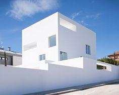 estudio campo baeza defines spanish home with sharp angles and simple geometries