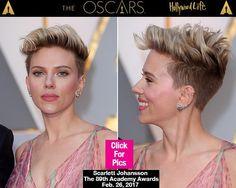 Scarlett Johansson Hair Oscars 2017