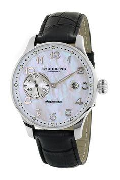 Men's Heritage Automatic Watch by Stuhrling on @HauteLook