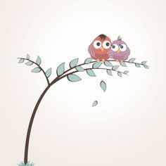 Free Lovely Birds vector