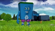 The NSA unveiled a pro-recycling mascot for kids named Dunk