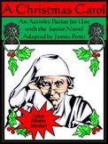 Christmas Activities: A Christmas Carol Activity Packet