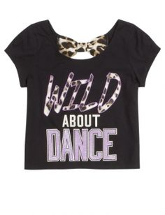 Dance Bow Back Graphic Tee