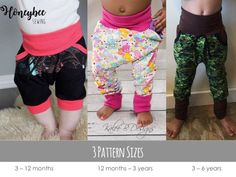 Apple Tree Bunny Bottoms Grow With Me Harem Drop Crotch Joggers Pants and Shorts ** PDF Sewing Pattern ** Grow With Me Pants Pattern par AppleTreePatternCo sur Etsy https://www.etsy.com/ca-fr/listing/524294635/apple-tree-bunny-bottoms-grow-with-me