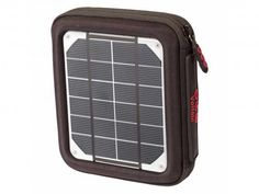 """Voltaic Systems """"Amp"""" Portable Solar Charger and USB Battery Backup Bank for iPhone, iPad, Samsung Galaxy, Android, and USB Devices Solar Powered Phone Charger, Solar Charger, Solar Panels For Home, Best Solar Panels, Iphone 8 Plus, Solar Energy System, Green Building, Renewable Energy, Save Energy"""