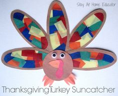 Turkey Suncatcher (from Stay At Home Educator)