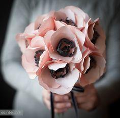 Paper Anemone Flower   Tutorial