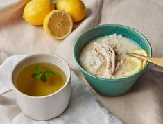 A classic Greek take on chicken soup, this velvety dish comes together with a few simple ingredients—egg yolks, chicken broth, and lemons—to create a wholly comforting meal.