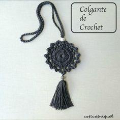 Colgante de Crochet   Handbox Craft Lovers   Comunidad DIY, Tutoriales DIY, Kits DIY