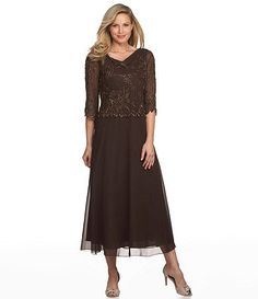 Rita here are some dresses any of these would be good for Capiton's  dinner Available at Dillards.com #Dillards