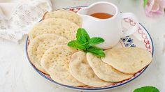طريقة عمل القطايف بالسميد - Semolina katayef recipe