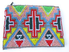 Beaded Mexican Purse - Available now at www.loomimports.com