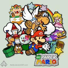Paper Mario by Nelde