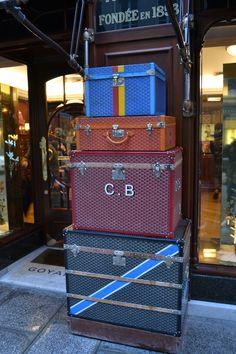 I've always wanted a Goyard trunk or bag.