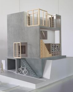 """197 Likes, 1 Comments - Handhome (@handhome_net) on Instagram: """"House OM model exhibits in The Architecture of Sou Fujimoto exhibition in Hanoi, Vietnam, made by…"""""""