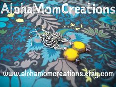 Simply put...You are my Sunshine Earrings by AlohaMomCreations #alohamomcreations #sunnydayearrings