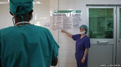 Our work with the Surgical Safety Checklist at Kibagabaga hospital in Rwanda was featured by BBC News in July 2013.