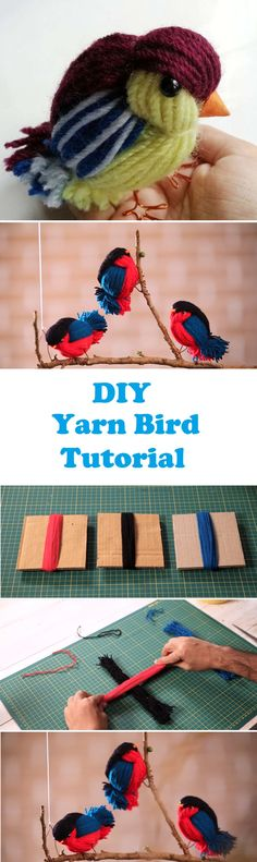 Hello there. If you were in a search of a new DIY tutorial involving animals and dolls, you have most certainly found the right article. Today we are going to share a beautiful yarn bird tutorial to our readers. In fact we are going to embed two separate tutorials for somewhat same projects. The reason… Read More DIY Yarn Birds