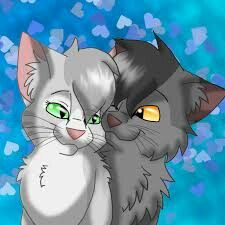 Silverstream and Graystripe or could be Cinderpelt and Ashfur