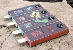 Artic Monkeys - Alcoholic Popsicles by Micky Fridman, via Behance