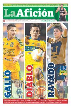 Portada La Afición Monterrey 05/06/14 | GALLO - DIABLO - RAYADO