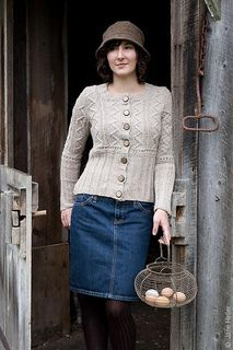 """Hallett's Ledge by Elinor Brown - from """"Twist collective Fall 2010"""" - $7.00 USD via Ravelry"""