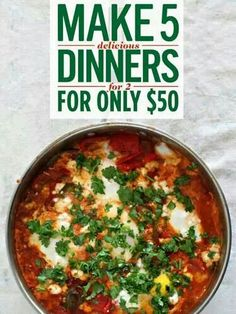 Easy economical dinner recipes