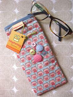 39ef508b9 56 melhores imagens de porta óculos | Coin purses, Fabrics e Fabric ...