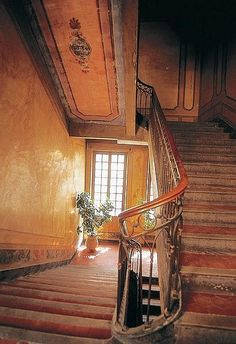 Interior  of a private mansion in Aix-en-Provence