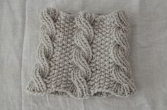 Cabled cowl by Cocoknits
