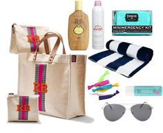 fill your tote - bridesmaid gifts that would be great for a beach wedding!