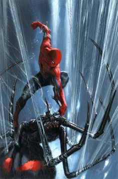 #Spiderman #Fan #Art. (Spider-Man: I hate Spiders!) By: Gabriele Dell'otto. (THE * 5 * STAR * AWARD * OF * ÅWESOMENESS!!!™)