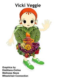 National Nutrition Month: Vicki Veggie