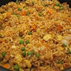 "Easy Chicken Fried Rice ""oh my gosh. I made this for dinner tonight and it was uh-mazing :) No joke."""