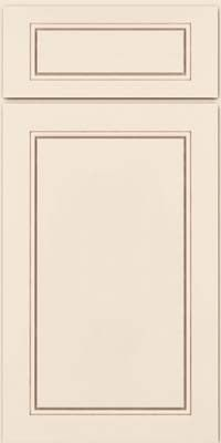 Door detail holace square aa6m4 maple in dove white for Dove white cabinets with cocoa glaze