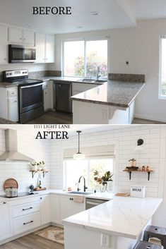 Home Renovation Kitchen Take a tour of my white Ikea kitchen featuring the new Sektion base cabinets and Bodbyn doors. - Take a tour of my white Ikea kitchen featuring the new Sektion base cabinets and Bodbyn doors. Home Decor Kitchen, Interior Design Kitchen, Diy Kitchen, Home Kitchens, Ikea Kitchen Remodel, Ikea Kitchen Design, Small Kitchen Layouts, Awesome Kitchen, Rustic Kitchen