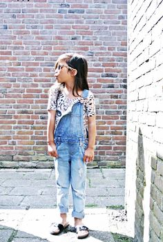 Life With Faye Blog: OUTFIT - Summer Dungarees