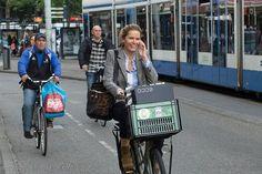 Amsterdam bicycle talk