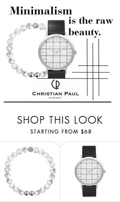 """""""Christian Paul - Minimalism"""" by ddalginanabeauty ❤ liked on Polyvore featuring Elwood and christianpaul"""