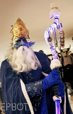 Ice King Cosplay from Dragon Con 2014. Photo from EPBOT