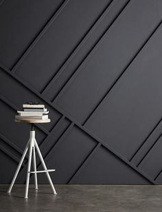 Instant Architecture: A Fresh Modern Trend In Traditional Wall Treatments