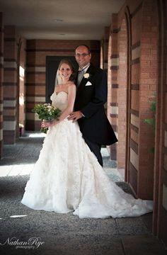 Allure Couture Style C157 - Wedding Photography: Nathan Rye  Photography: Jessica Bennett   #allure #wedding #weddings #realwedding #realbride #allurebridals #bride #bridal #bridalgown #weddingdress #lace #vintage #brandisbridal #2014bride #2014wedding #weddingideas #vintagewedding