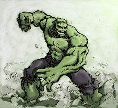 The Hulk - Michael Chang