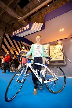 Laura Trott with Dogma
