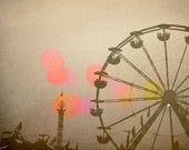 Ferris Wheel Photograph - Carnival - Fair - Return to Summer - Signed Fine Art Photography