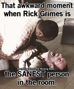 The Walking Dead Rick Grimes and Morgan