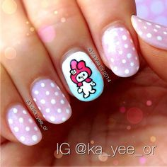 ka_yee_or melody #nail #nails #nailart