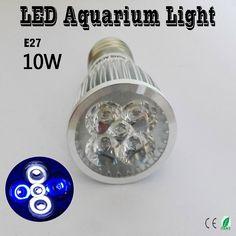 10 w e27 e14 gu10 led light acquario, per Illuminazione Fish Tank Piante Acquatiche E Coralli Crescono Le Luci 2 Blue & 3 Bianco